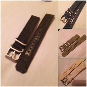 Genuine seiko 18mm straps for snk803,5,7 & 9